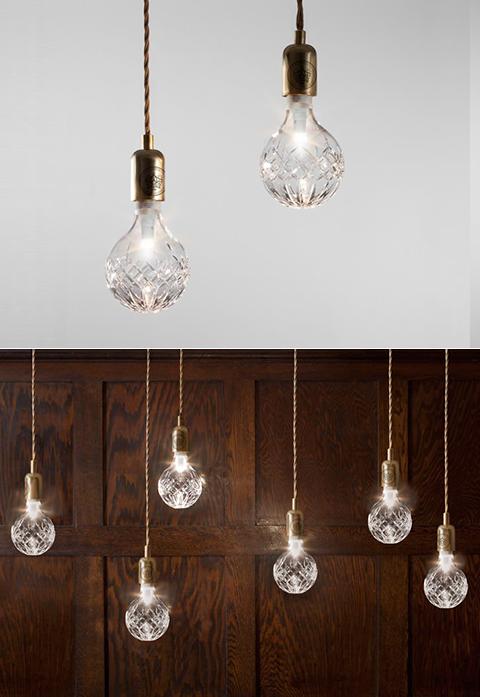 Crystal Bulb Pendant Lights & Crystal Bulb Pendant Lights | Product Genius | Pinterest | Pendant ...