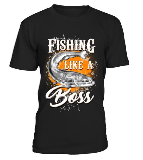 db67ba86701 Fishing Like a Boss Angeln  Shirts  AnglerShirts