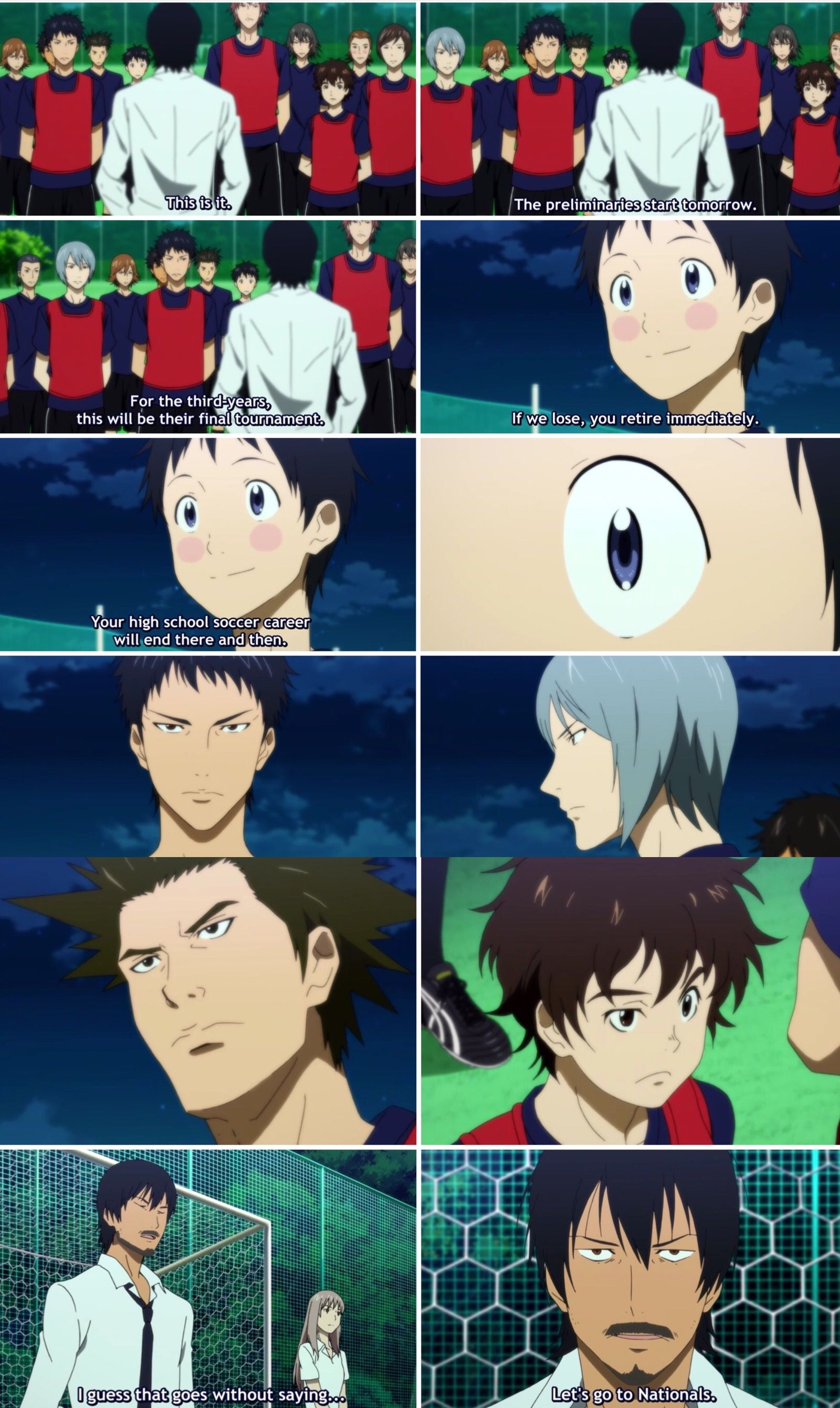 Let S Go To Nationals Days Tv Days Soccer Anime Anime Soccer Day