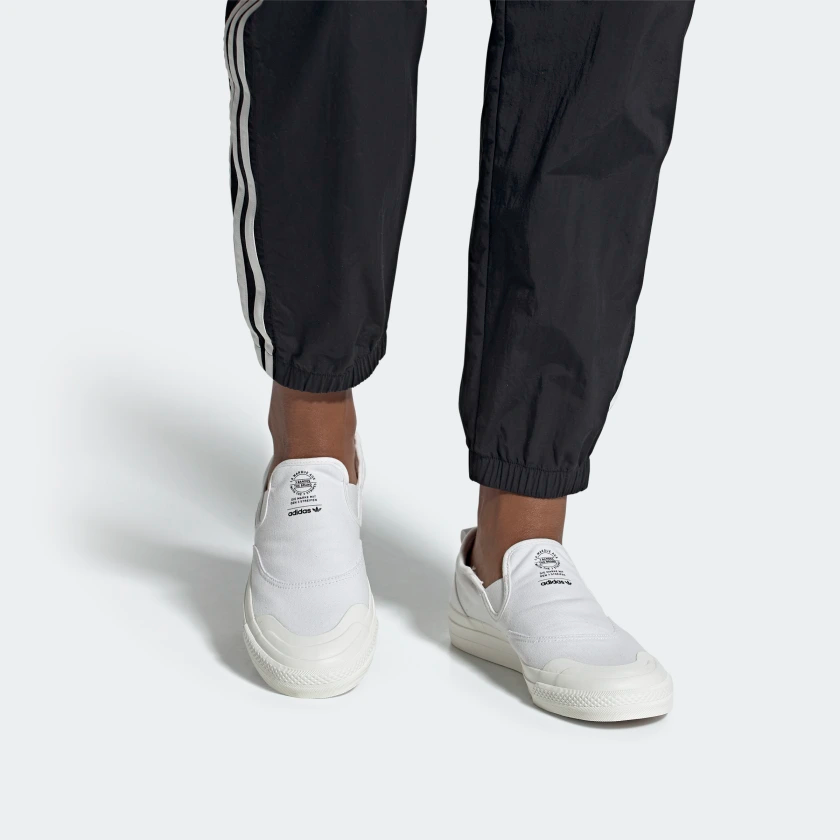 adidas Nizza RF Slip-on Shoes - White   adidas US   White slip on ...