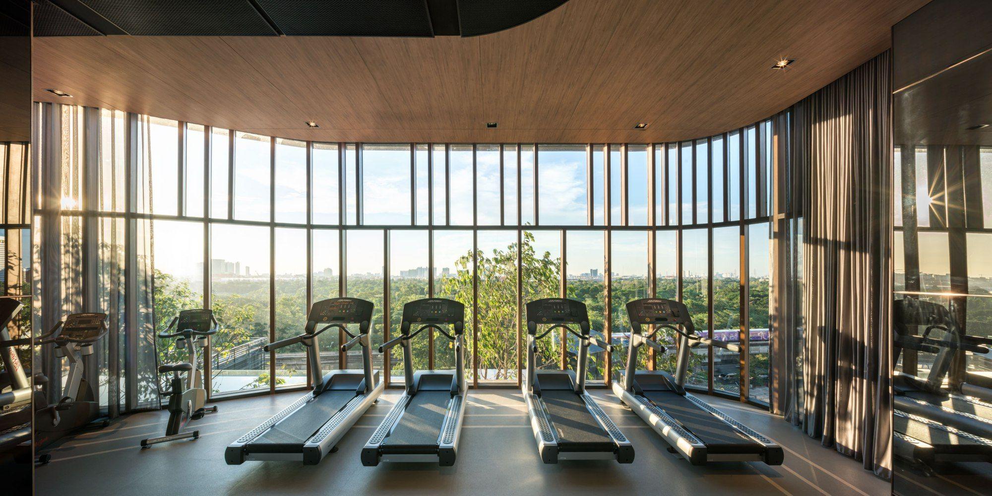 The Line Jatujak Mochit By Sansiri Home Gym Design Gym Facilities Gym Design