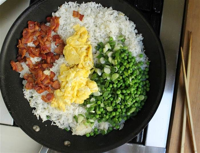 Have a look at 15 minute bacon and egg fried rice its so easy to 15 minute bacon and egg fried rice ccuart Images
