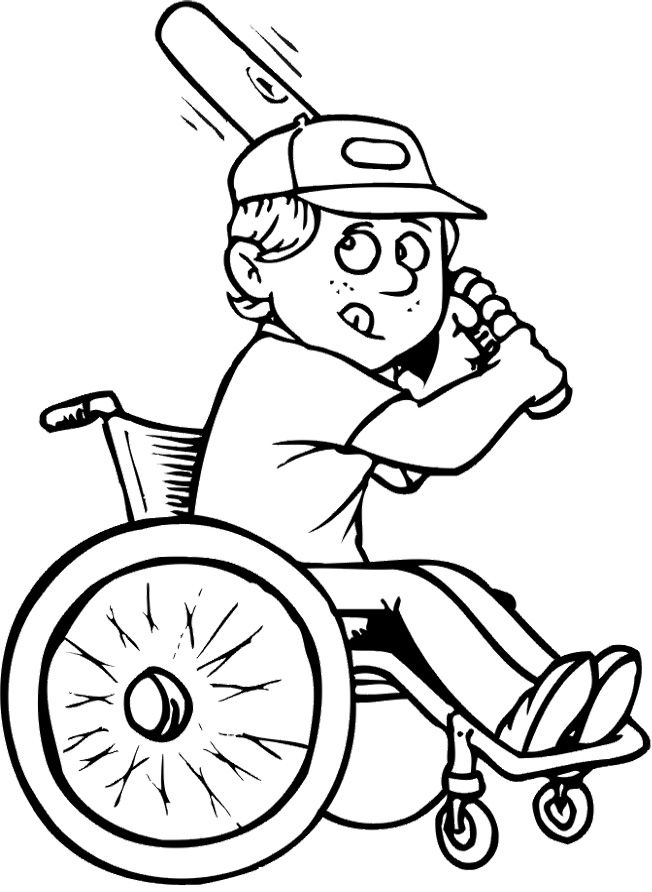 Wheelchair Coloring Sheets Yahoo Image Search Results Coloring Pages Coloring For Kids Coloring Pages For Kids