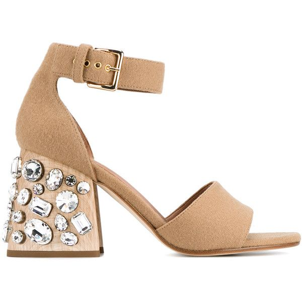 Marni Grosgrain-Trimmed Ankle Strap Sandals cheap sale sale free shipping wide range of iyufoIu3YY
