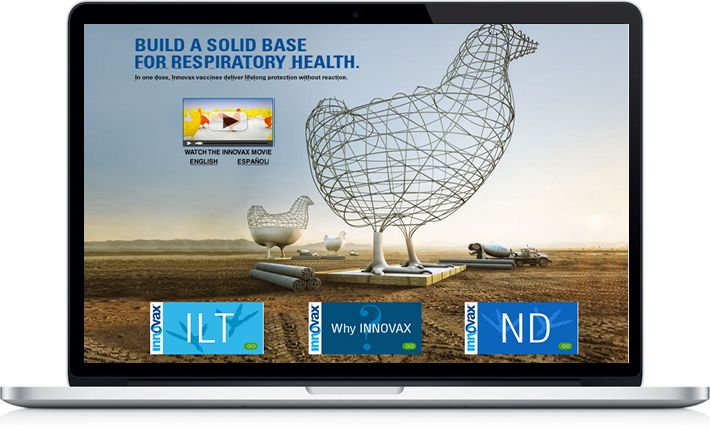 Who would have thought a poultry vaccine website could be so beautiful?    http://www.greatercreators.com/portfolio/innovax-vaccines/