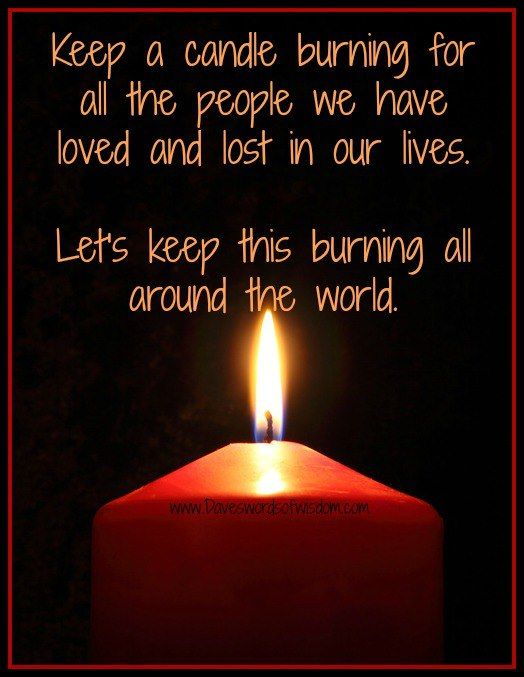 Download Remembering Those That We Love! | Burning candle, Candle ...