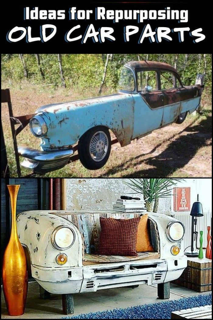 Repurposed Car Parts | Cars, Men cave and Repurposed