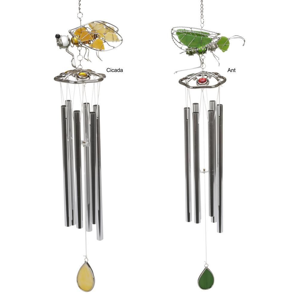 Our series of insect-inspired stained glass chimes offers an eye-catching swarm of choices. Description from thehungersite.greatergood.com. I searched for this on bing.com/images