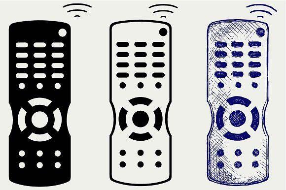 Remote Control Tv Svg Remote Control Technology Icon Remote
