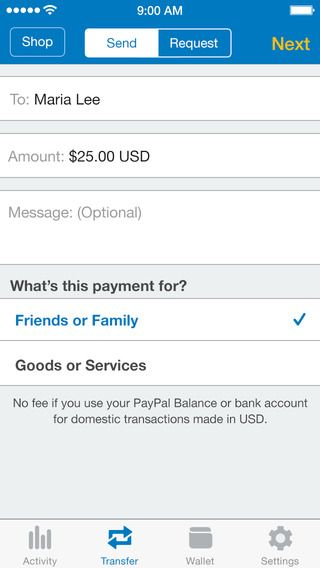 How To Send Money With Paypal App