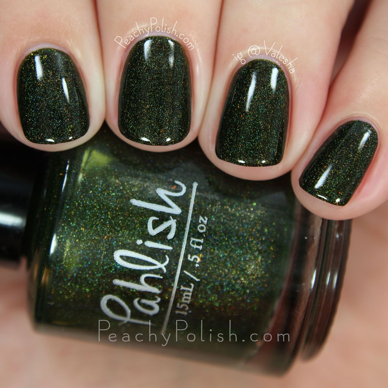 Pahlish Little Baobabs | Matters Of Consequence Collection | Peachy Polish #green