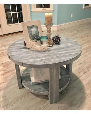 20+ Easy & Free Plans to Build a DIY Coffee Table images