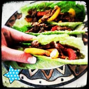 Healthy Fajitas!!! SOOOOOOO GOOD! Clean Eating!
