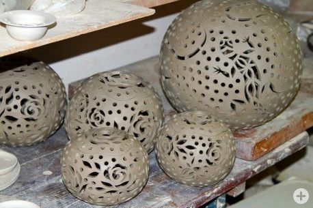 hauptsache keramik: Eidechsen und Rosen