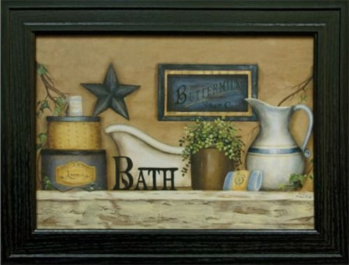 country star wall decor ebay.htm new primitive country bath black star wall art picture country  new primitive country bath black star