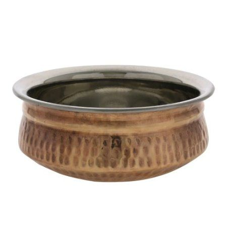 Indian Dinnerware Copper Rimmed Cereal Serving Bowl 24 Oz Amazon.co.uk  sc 1 st  Pinterest & Indian Dinnerware Copper Rimmed Cereal Serving Bowl 24 Oz: Amazon.co ...