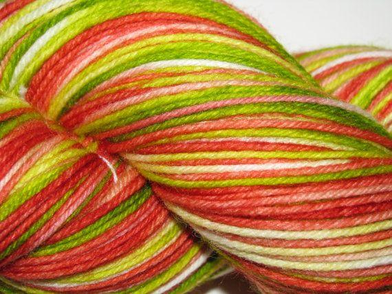 Hand Dyed Superwash Merino/Nylon Sock Yarn by GalianaCreations, $21.00