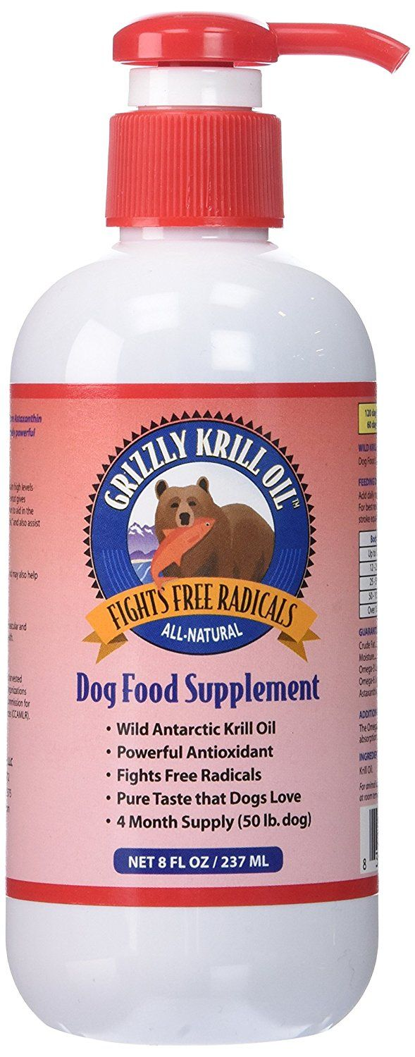 Grizzly Pet Products Krill Oil For Dogs Check Out The Image By Visiting The Link This Is An Affiliate Link A Krill Oil Dog Food Recipes Dog Food Supplement