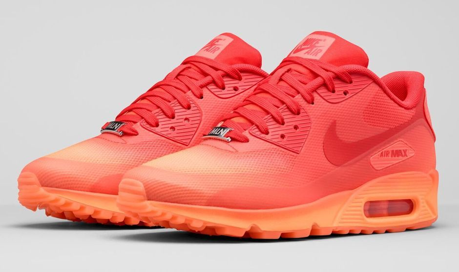 womens nike air max 90 orange