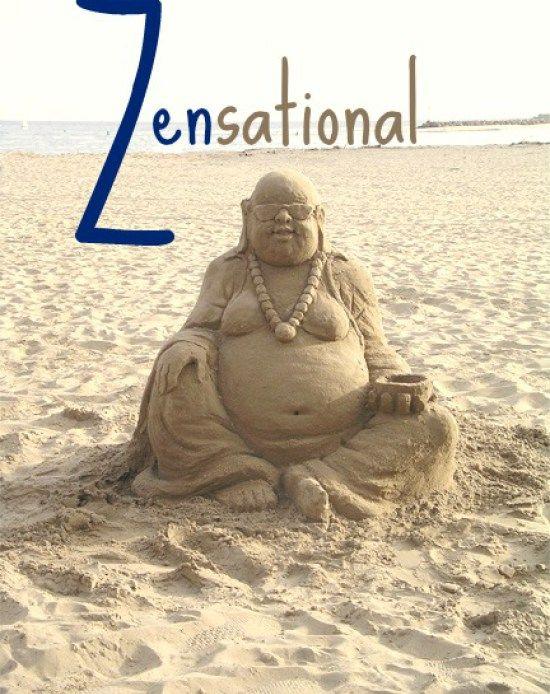 Sand+Buddha+Sculpture+on+the+Beach