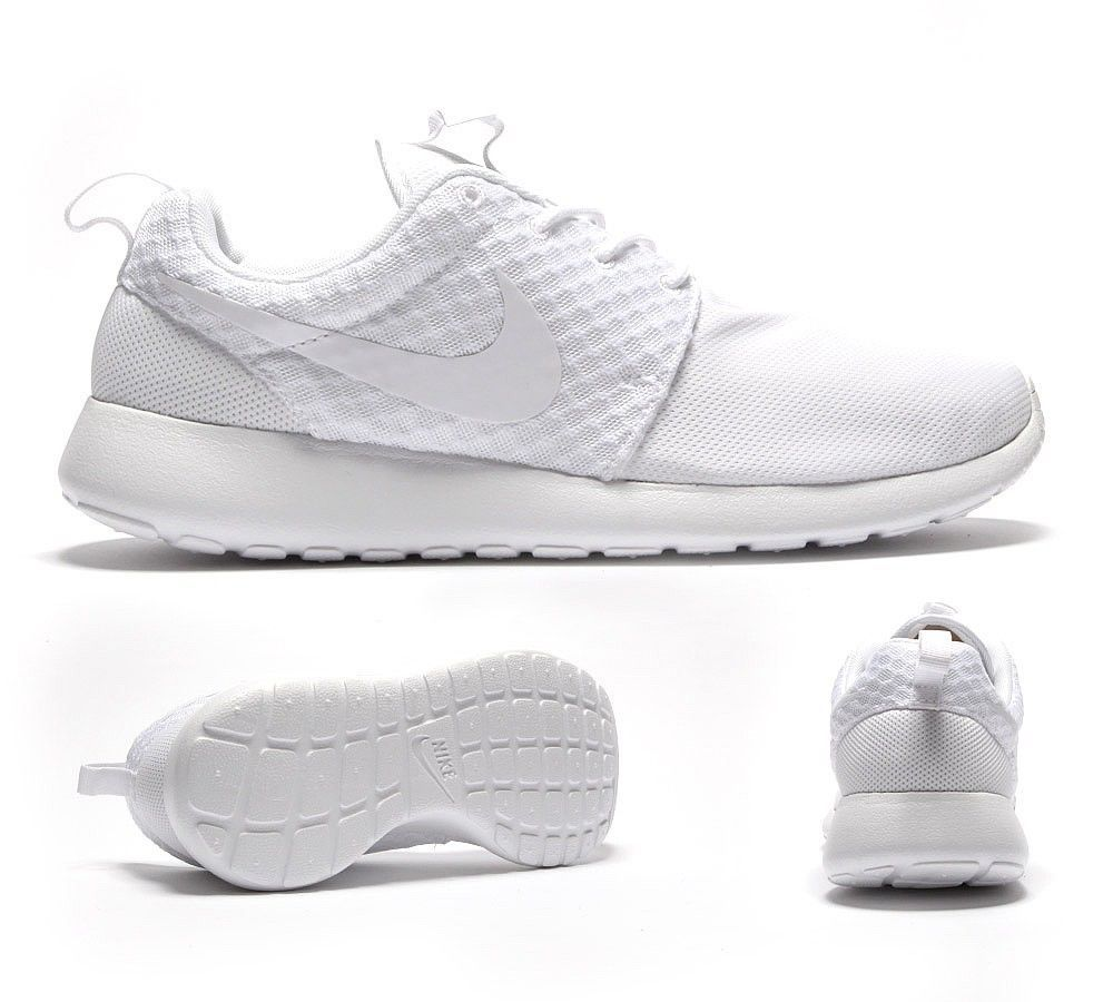 new products e7404 0f79d Details about Nike Roshe Run platinum white UK sizes 7 7.5 8 ...