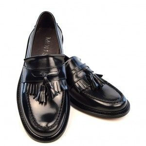 3a89bc19ab05b Oxblood Tassel Loafers – The Prince – Mod Shoes. Image result for black  mods ska south london