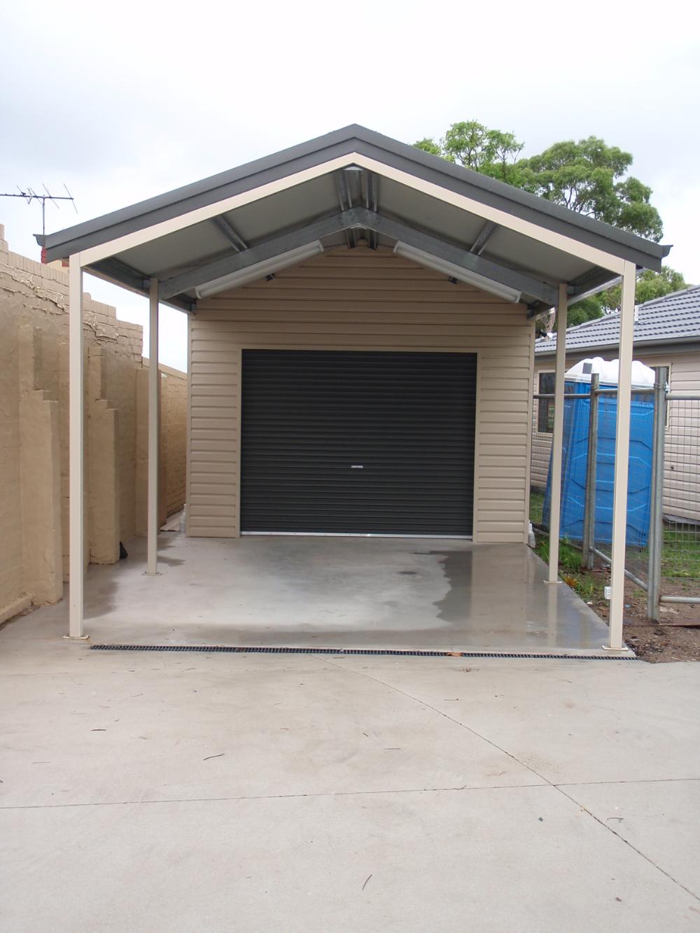 Sydney Sheds Garages Carport designs, Gable roof, Shed