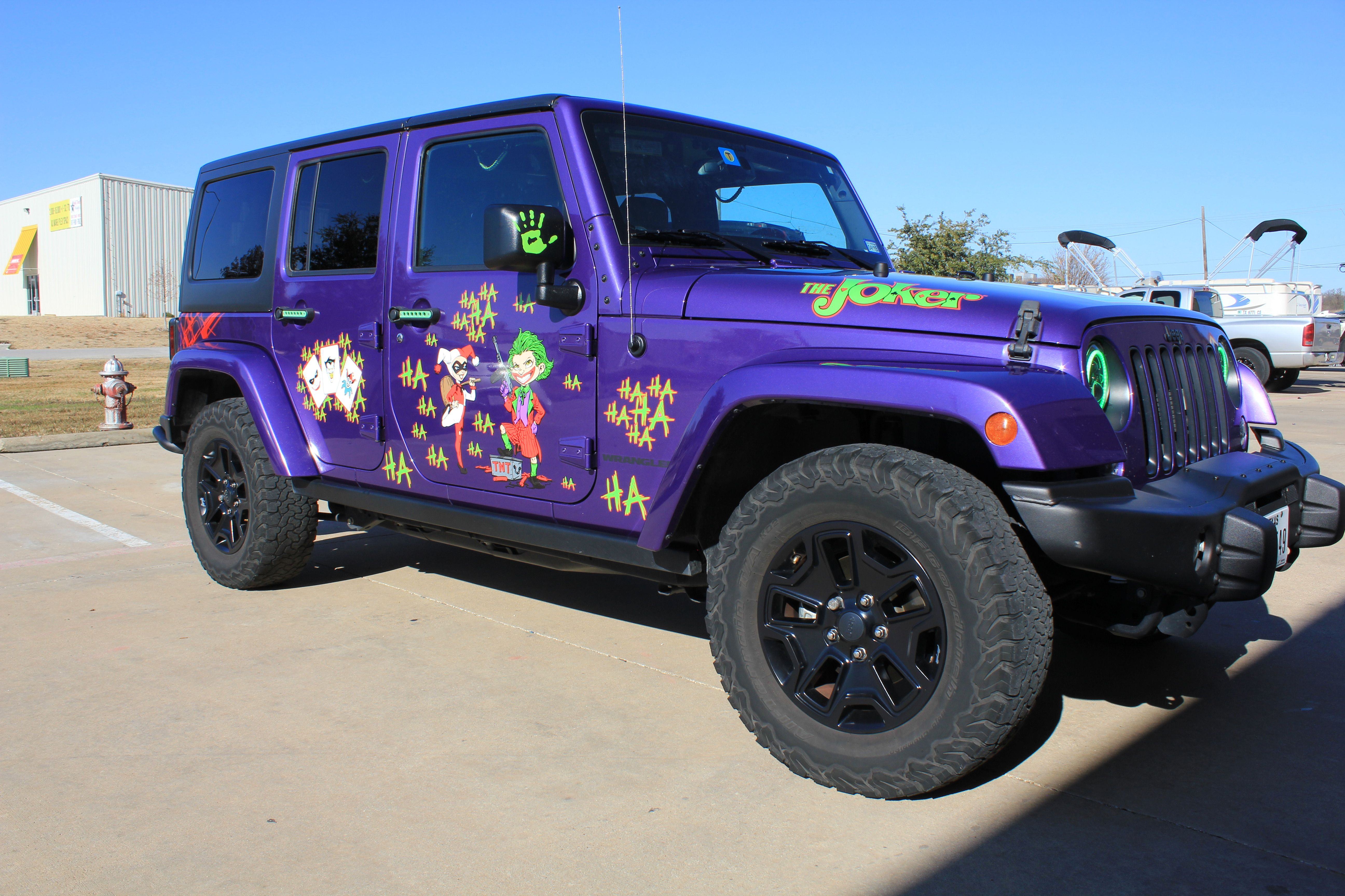 Custom Car Wraps Car Wrap Purple Jeep Purple Car