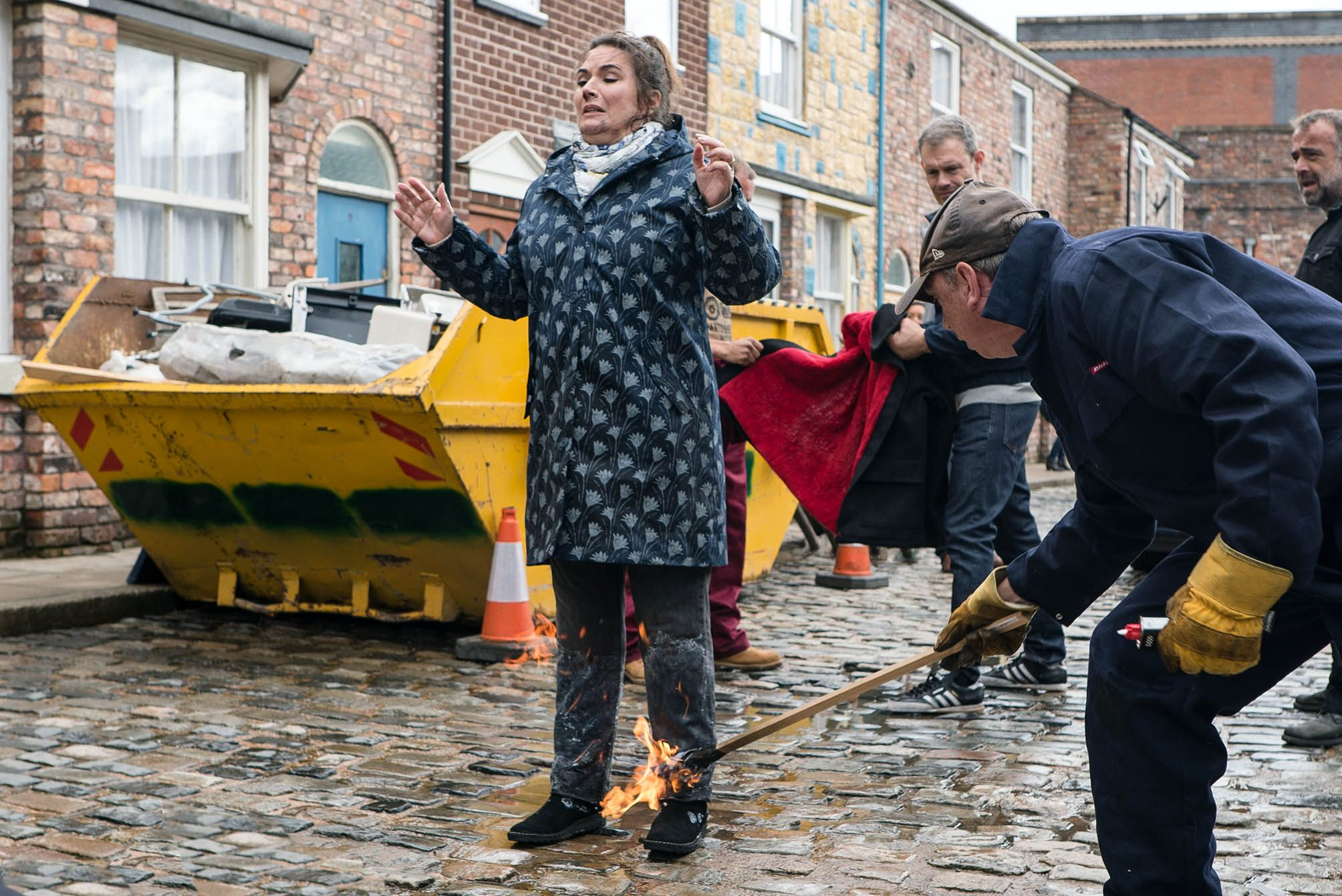 Coronation Street star Debbie Rush on the personal story behind Anna's fire ordeal