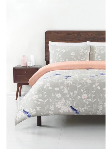 Soren Hummingbird 250 Thread Count Cotton Quilt Cover Set Double