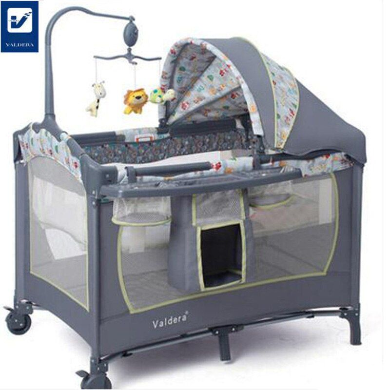 Portable Baby Crib New Fashion Multi Function Portable Crib