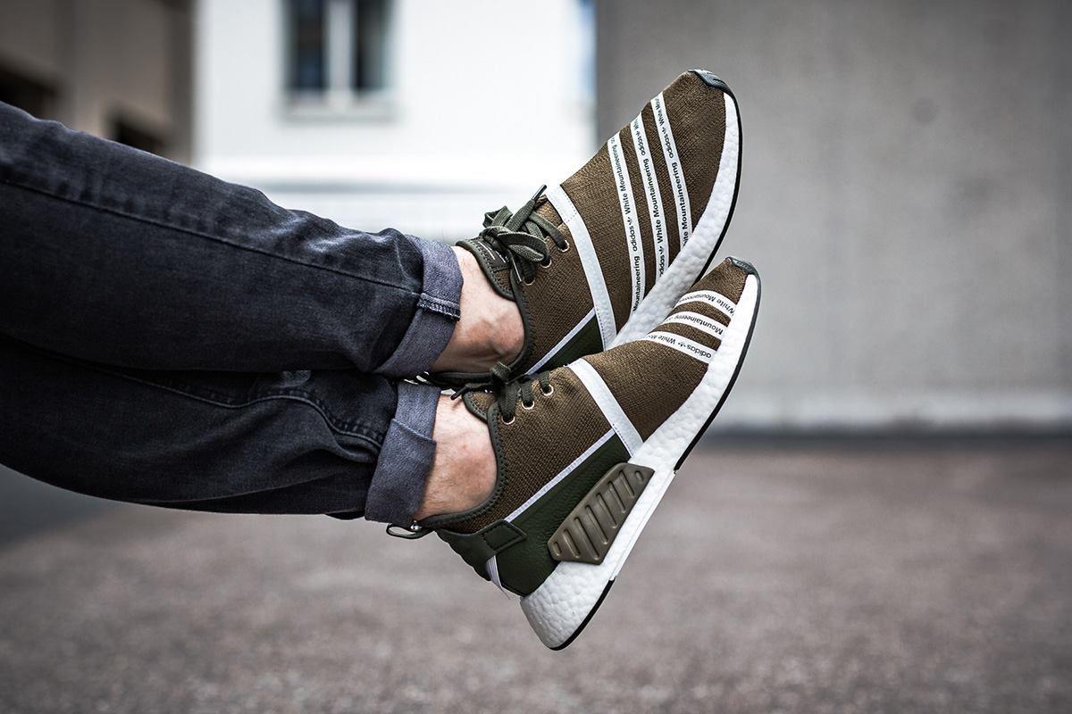 ADIDAS WHITE MOUNTAINEERING NMD_R2 PK | Sneakers, Adidas