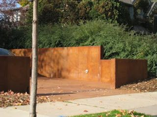 Acid Stained Concrete Retaining Wall I Want To Do This Our So It Will Blend In The Surroundings