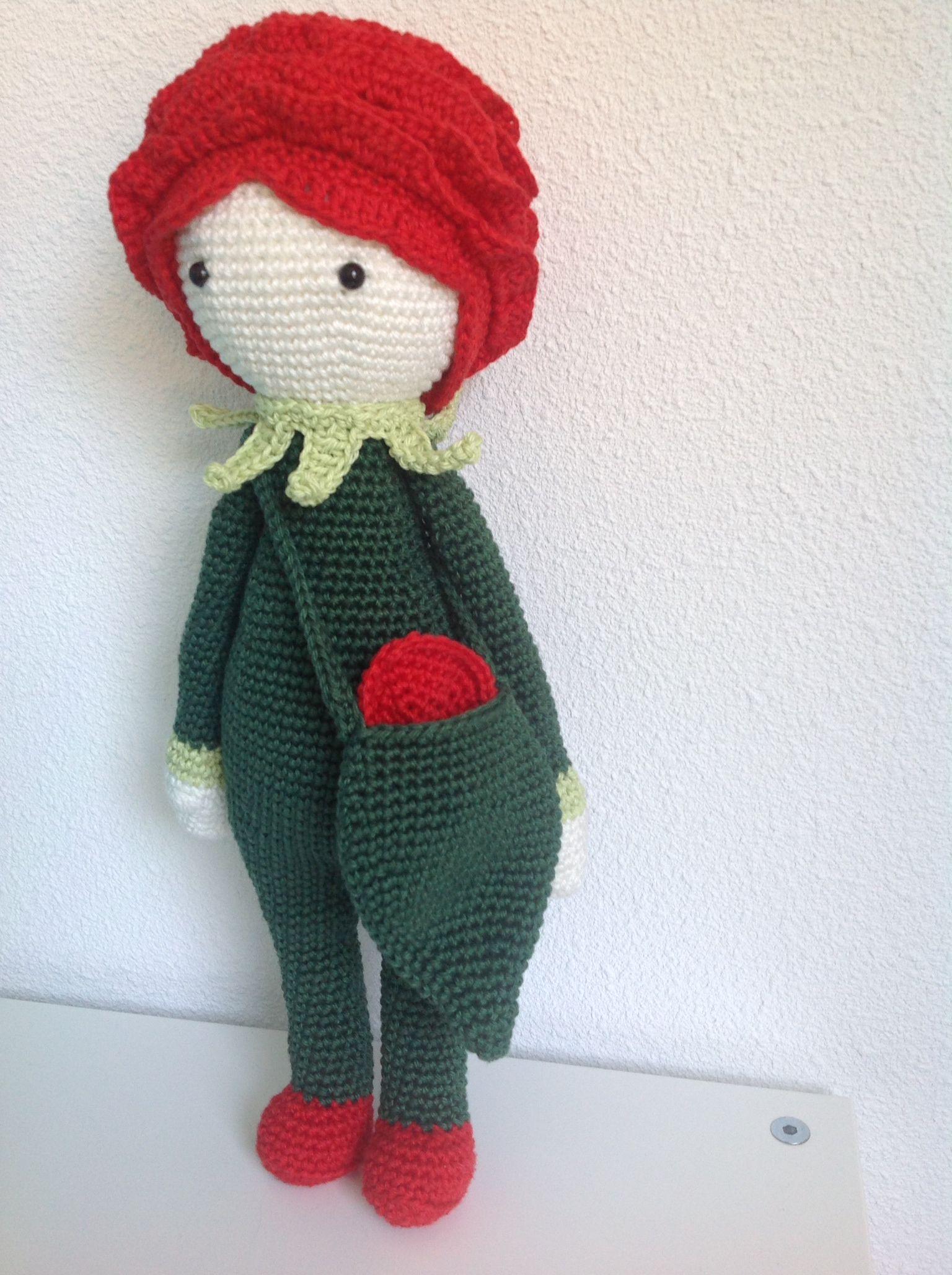 Rose Roxy by Natalie van D / pattern by Zabbez