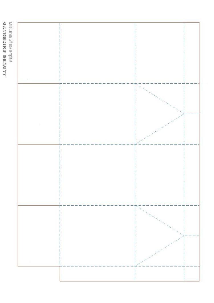 DIY PRINTABLE MILK CARTON GIFT BOXES.   Template, Gift box templates ...