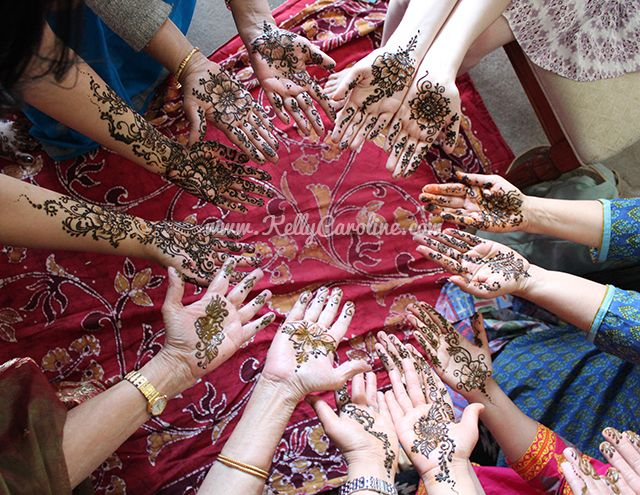 Mehndi Party Hd : Mehndi party henna for indian fusion wedding