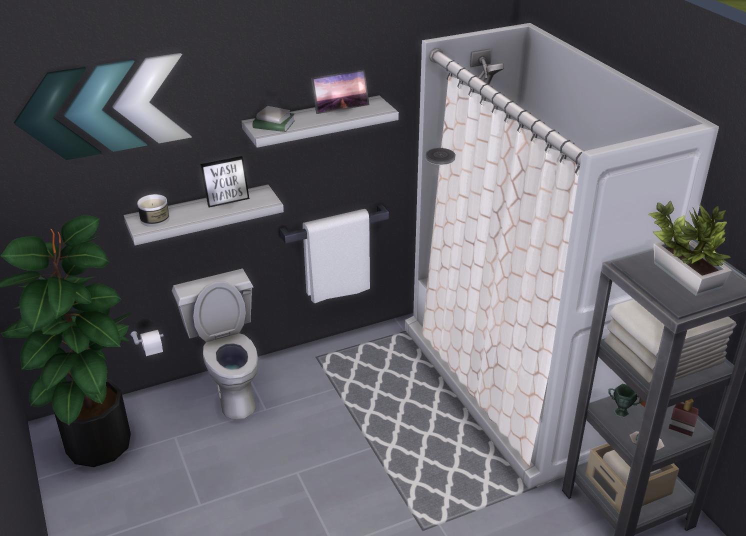 Sims 7 CC  Bathroom Decor Set 7  Custom Content  TheSimsSpace