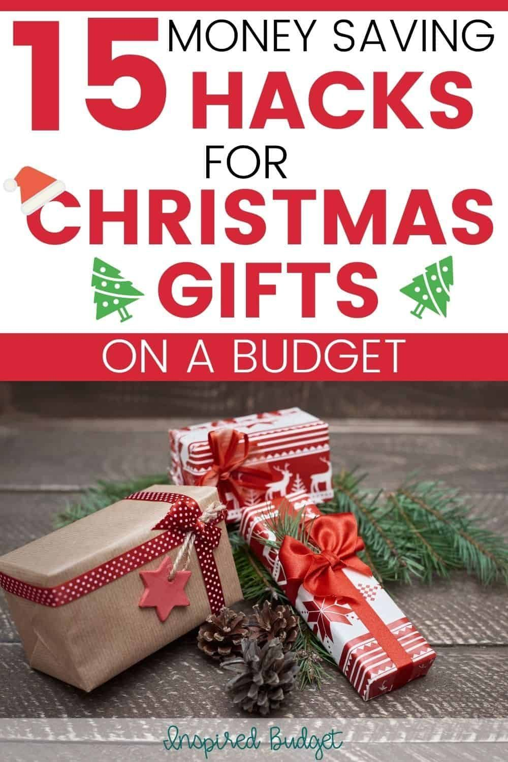 Christmas Gifts On A Budget Ideas And Hacks Inspired Budget In 2020 Budgeting Money Saving Plan Saving Money