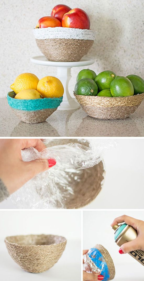 Diy home decor ideas on a budget budgeting bowls and tutorials - Home decor ideas diy ...