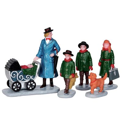 Lemax, Lemax Caddington Village Figurine Nanny Outing #52334 - American Sale