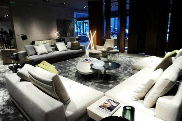 MINOTTI SHOWROOM IN MIAMI DESIGN DISTRICT #minotti #miamidesigndistrict