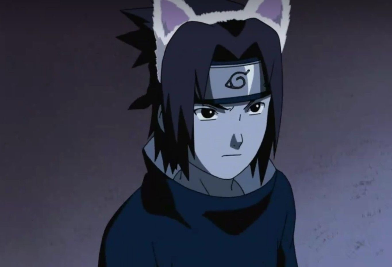 Sasuke Uchiha Disfrazado De Gato Personagens De Anime Orelhas De Gato Sasuke Uchiha