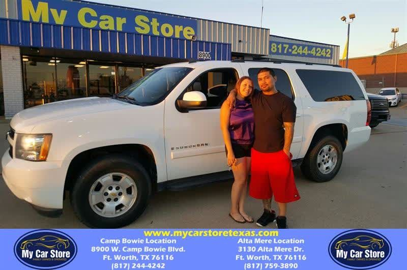 Congratulations Contreas on your Chevrolet Suburban from