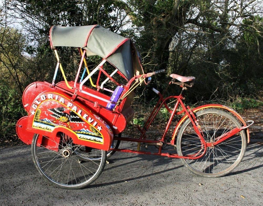 Original Indonesian Rickshaw Bike Authentic From Java Tuck Tuck