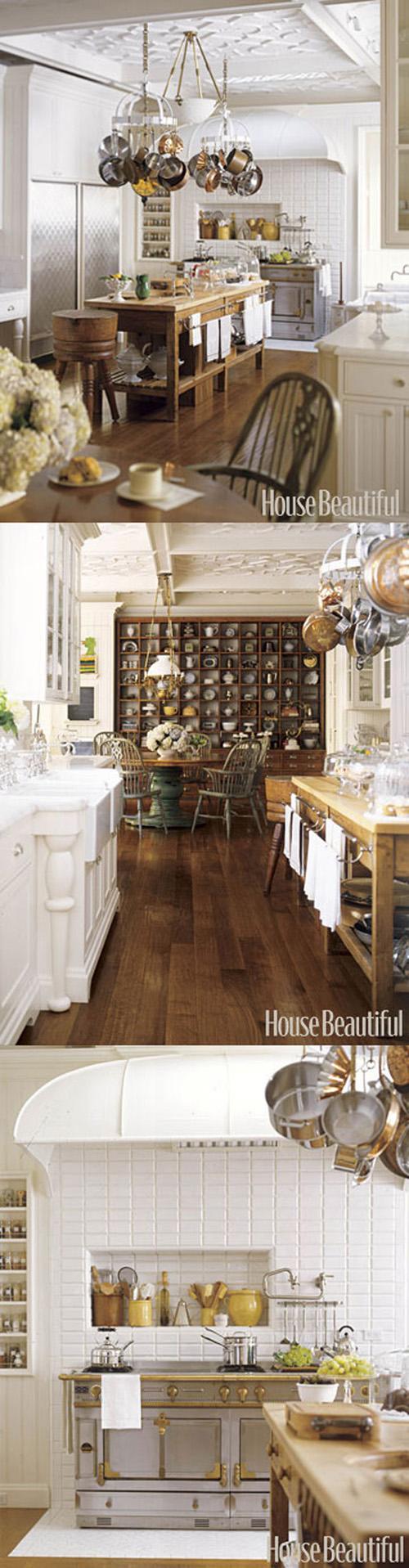 Texture Rich Kitchen Designer Susan Dossette Created