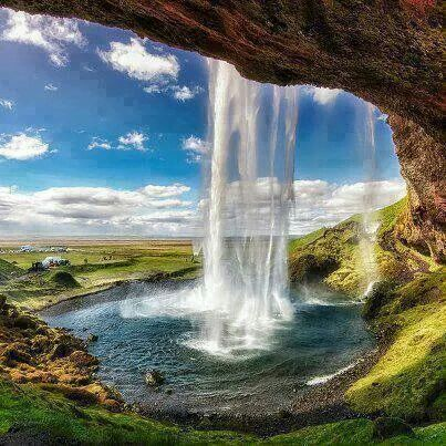 Waterfall Sagalandzvos In Iceland Amazing Places To Visit - 10 waterfalls to see before you die