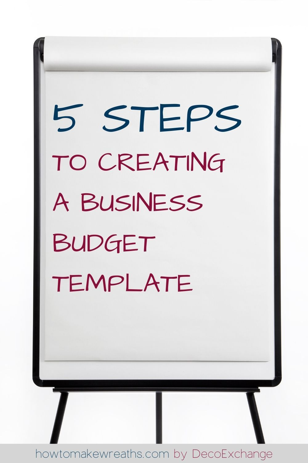 Business Budget Template 101 Creating Your Small Business Budget How To Make Wreaths Business Budget Template Budget Template Budgeting