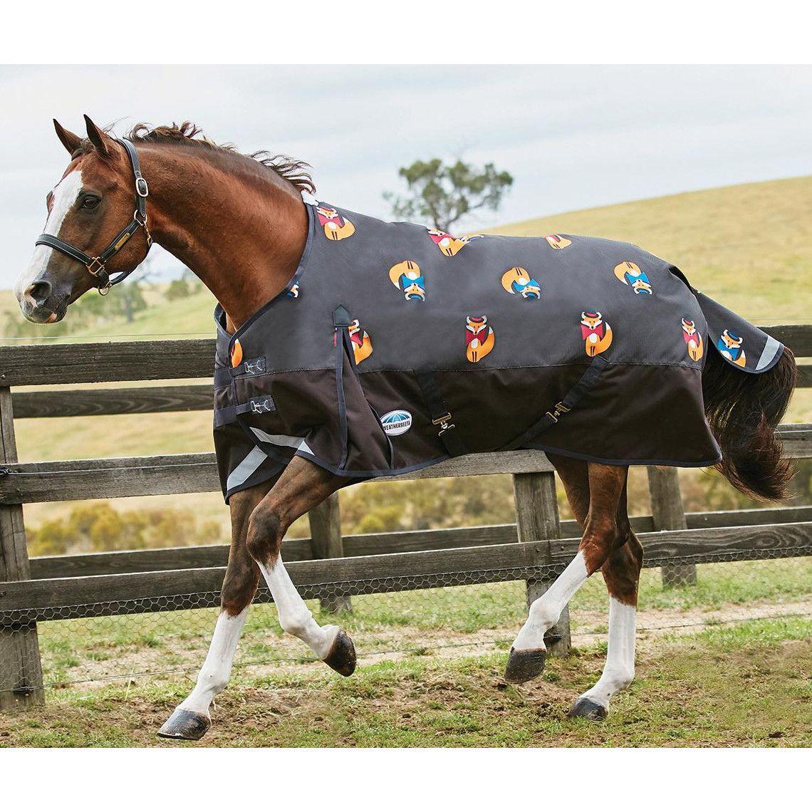 Black Weatherbeeta Comfitec Classic Medium Standard Neck Horse Rug Turnout