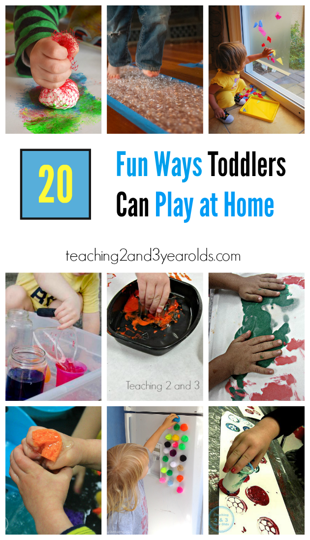 20 Fun And Easy Toddler Activities For Home Teaching 2 And 3 Year
