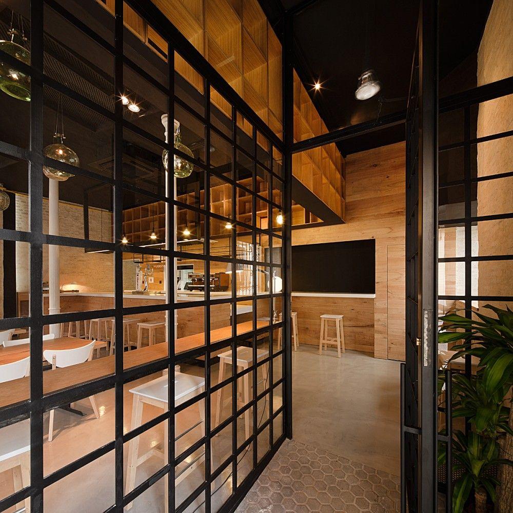 Indian restaurants interior design restaurant pacatar  donaire arquitectos  jalousies ramen and